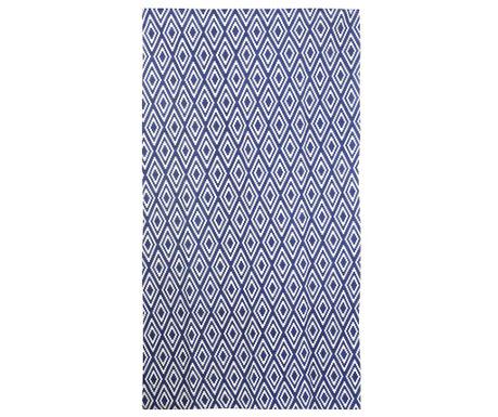 Koberec Nirmal Blue White 150x240 cm