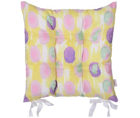 Jastuk za sjedalo Colorful Print 37x37 cm