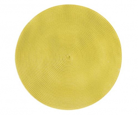 Individual Rond Yellow 36 cm