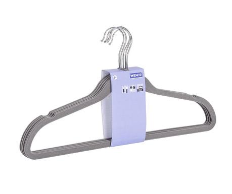 Set 5 obešalnikov Hang Grey