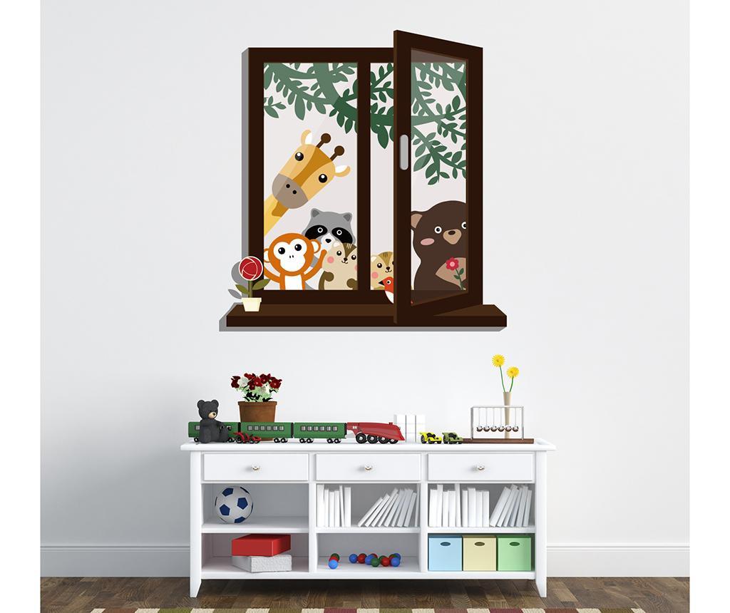 Animal Window View Matrica