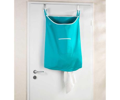 Zestaw 2 wieszaki i  torba na pranie Canguro Petrol