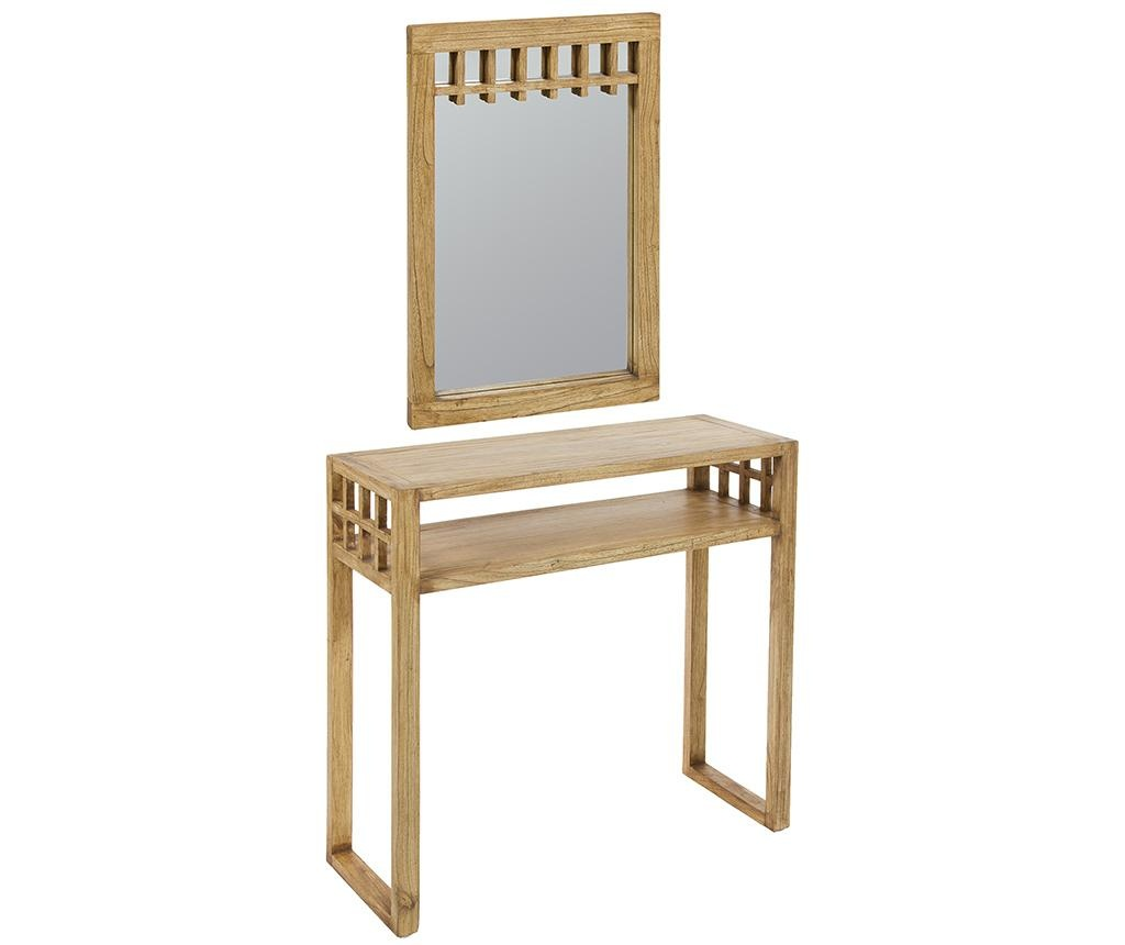Set konzola i zrcalo Sarae