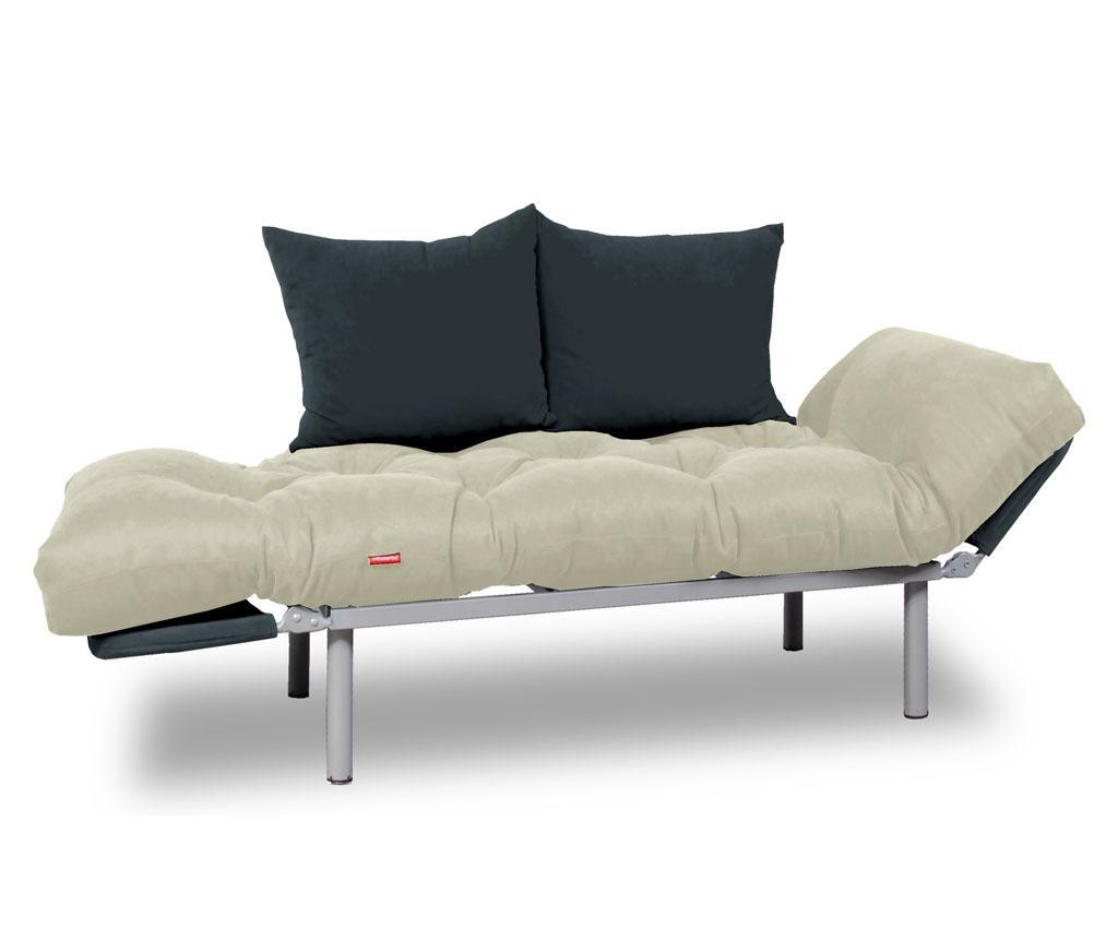 Sofa extensibila Relax Cream Grey