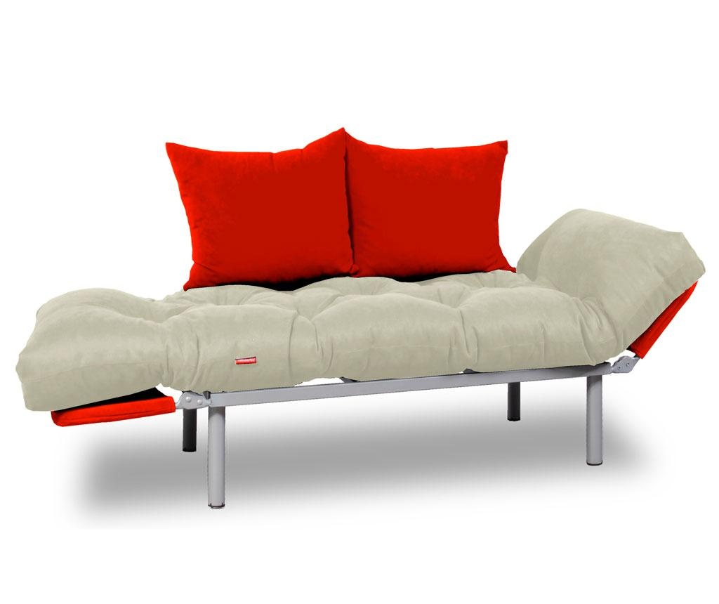 Sofa extensibila Relax Cream Red