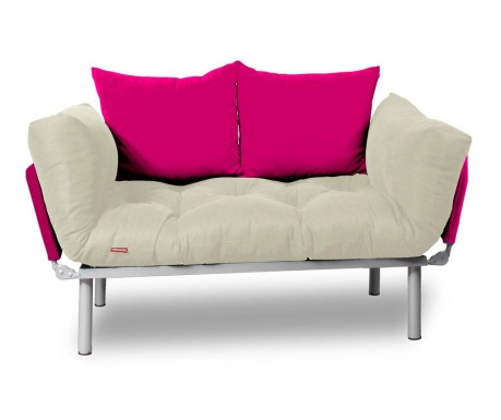 Rozkladacia pohovka Relax Cream Pink