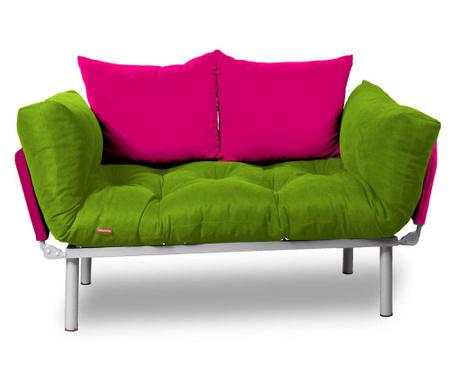 Sofa extensibila Relax Green Pink