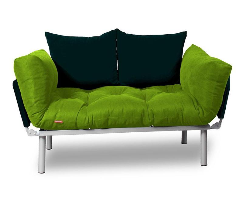 Sofa extensibila Relax Green Black