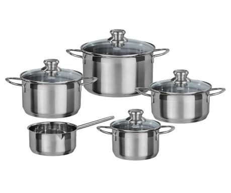 Комплект съдове за готвене 9 части Trinity