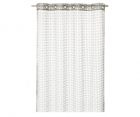 Záclona Denmark Light Grey 140x260 cm