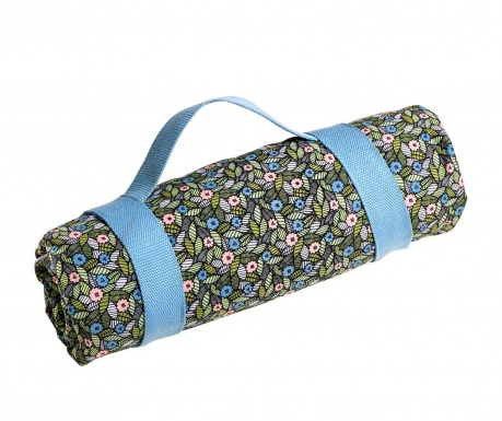 Pikniková deka Floral 140x141 cm