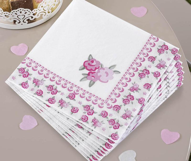 Set 16 papirnatih ubrusa Frills & Spills