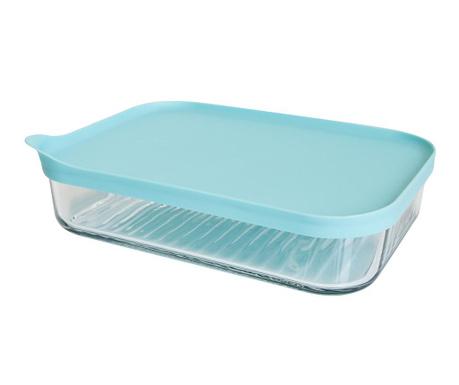 Freezer Blue Mély tál fedővel 1.05 L