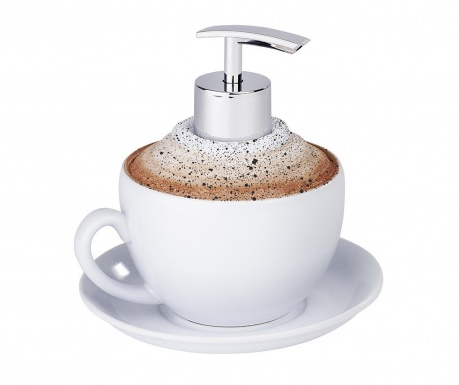 Диспенсър за течен сапун Cappuccino 230 мл