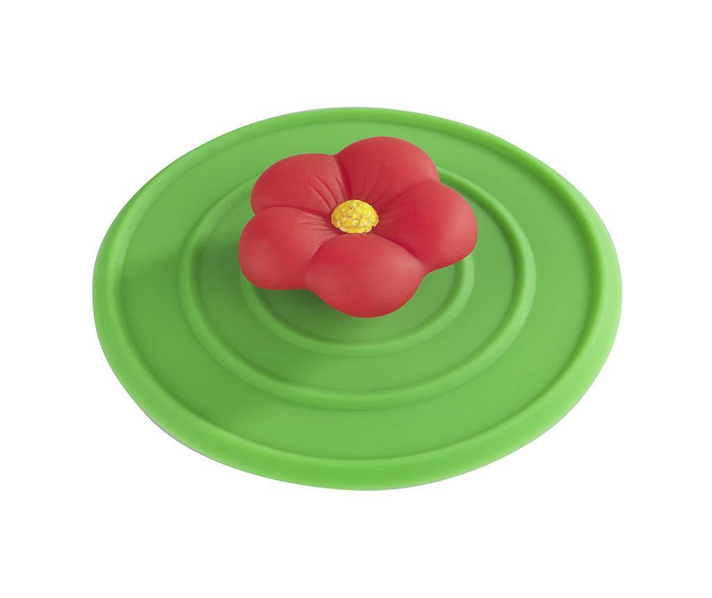 Red Flower Lefolyódugó