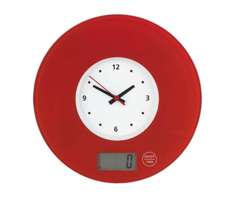 Цифрова кухненска везна Time Red