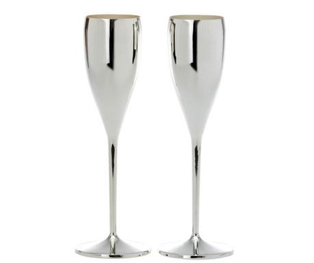 Sada 2 pohárov na šampanské Feast 200 ml