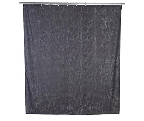 Zasłona prysznicowa Deluxe Grey 180x200 cm