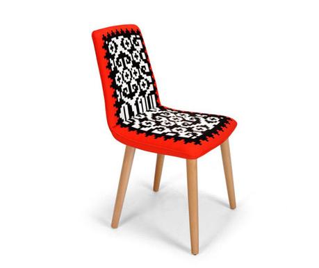 Καρέκλα Tokyo Red Black