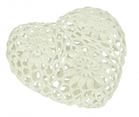Knitted Heart Small Dekoráció