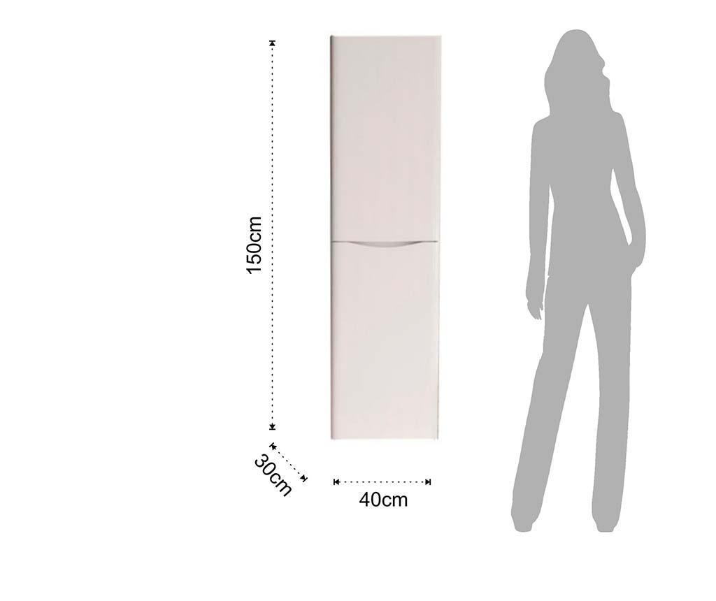 Redit White Fürdőszobai fali szekrény
