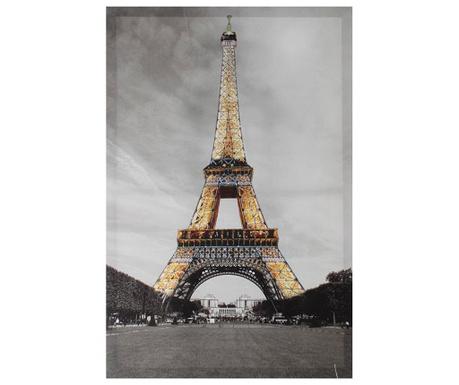 Obraz Glitter Eiffel 60x90 cm