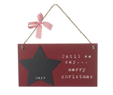 Decoratiune de perete Days Until Christmas