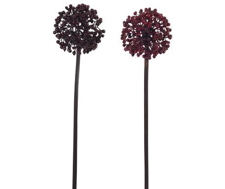 Zestaw 2 kwiatów sztucznych Berry