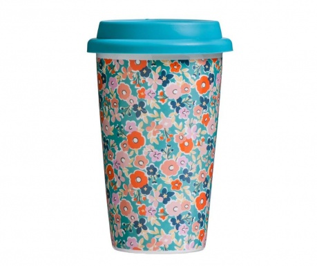 Travel mug Pretty Things Floral 330 ml