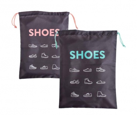 Set 2 saci pentru pantofi Daniel Shoes