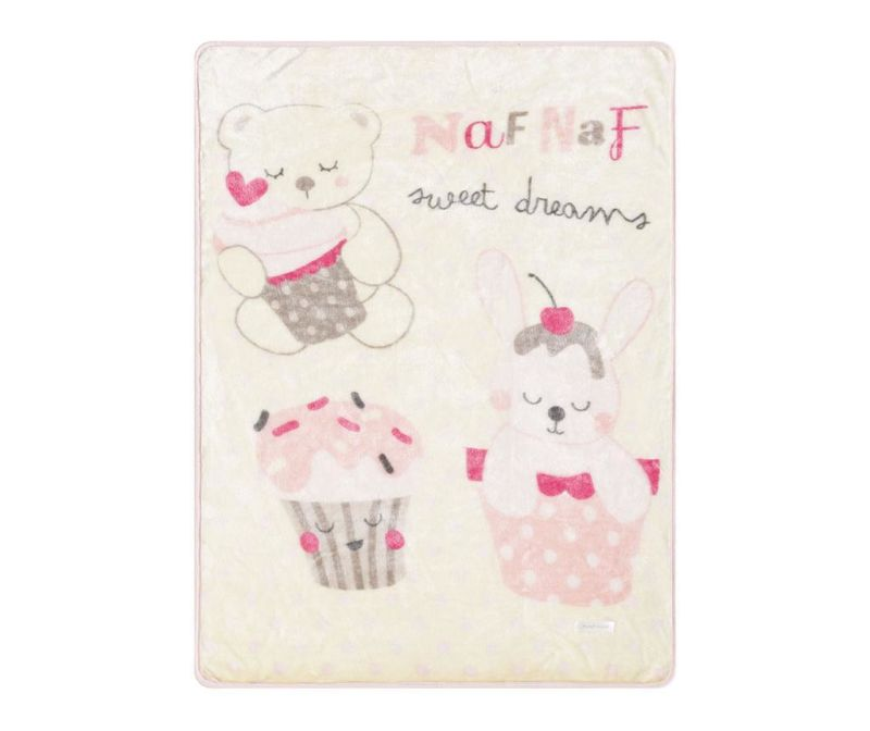Pokrivač Sweet Pink 80x110 cm