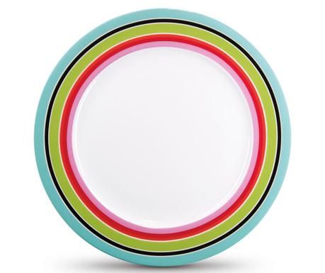 Stripy Desszertes tányér