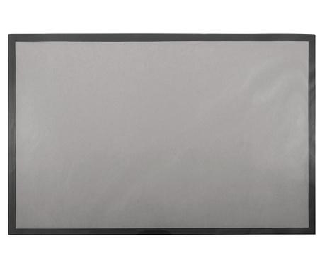 Комплект 6 подложки за хранене Rectangle Idro Grey 28.5x43.5 см