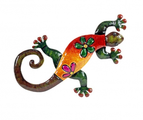 Decoratiune de perete Long Lizard
