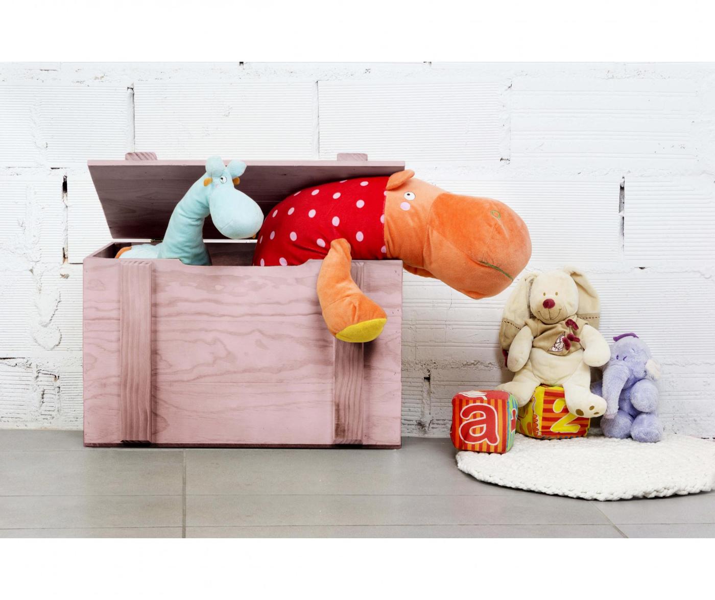 Juquetero Pink Koffer láda játékoknak