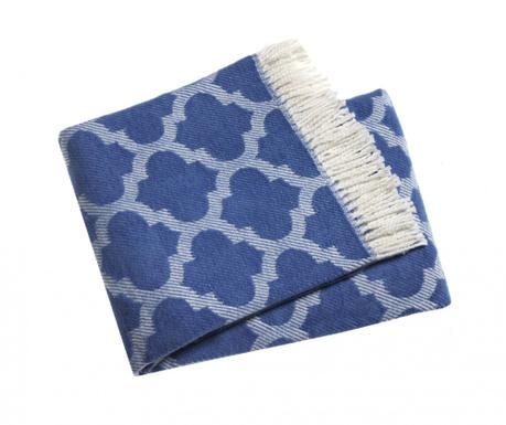 Priročna odeja Damasco Cobalt 140x180 cm