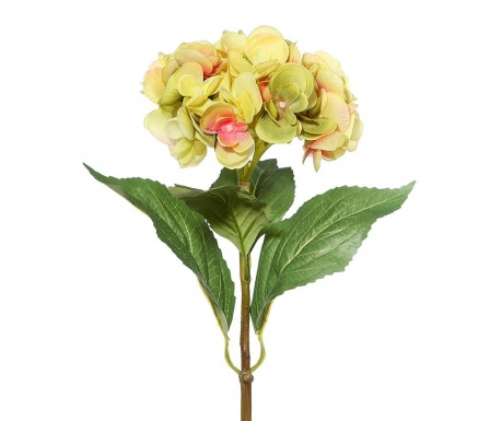 Artificial flower Hydrangea Yellow