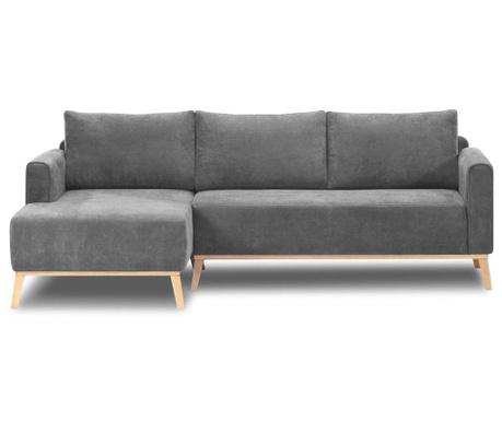 Ляв ъглов диван Campos Grey