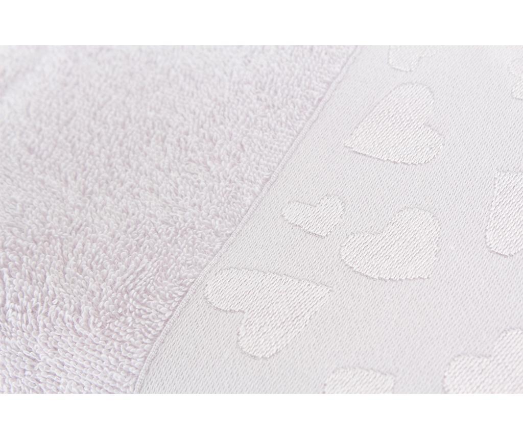 Set 2 prosoape de baie Kalp Lilac 50x90 cm