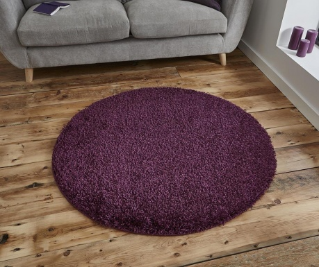 Covor Vista Circle Purple 133 cm