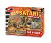 Talna sestavljanka s 100 kosi Safari Sunset