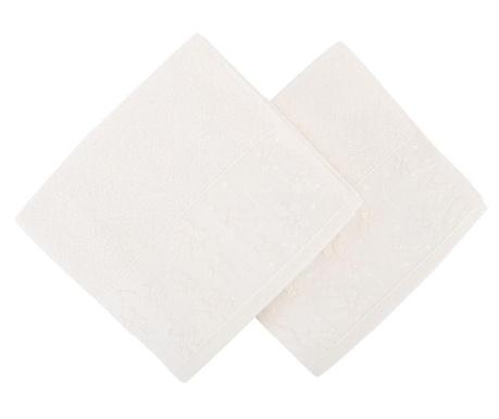 Papatya White 2 db Fürdőszobai törölköző 50x90 cm