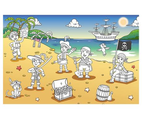 Тапет Pirate Bay 115x175 см