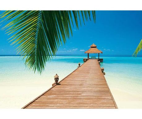 Paradise Beach Tapéta 254x366 cm