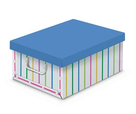Skladovacia krabica s vekom Lines and Colors S
