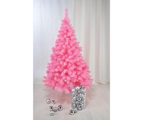 Sztuczna choinka Frosty Pink 180 cm