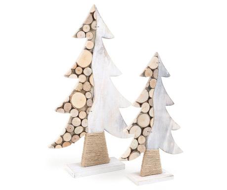 Zestaw 2 dekoracji Tree Discs