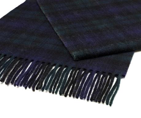 Zimski šal Black & Blue 25x190 cm