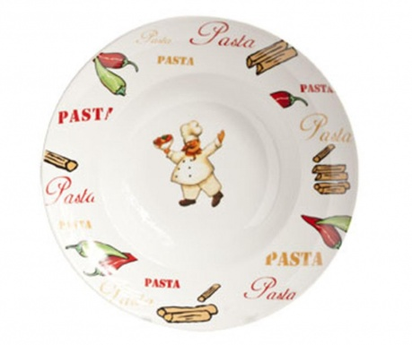 Kitchener Tésztás tányér