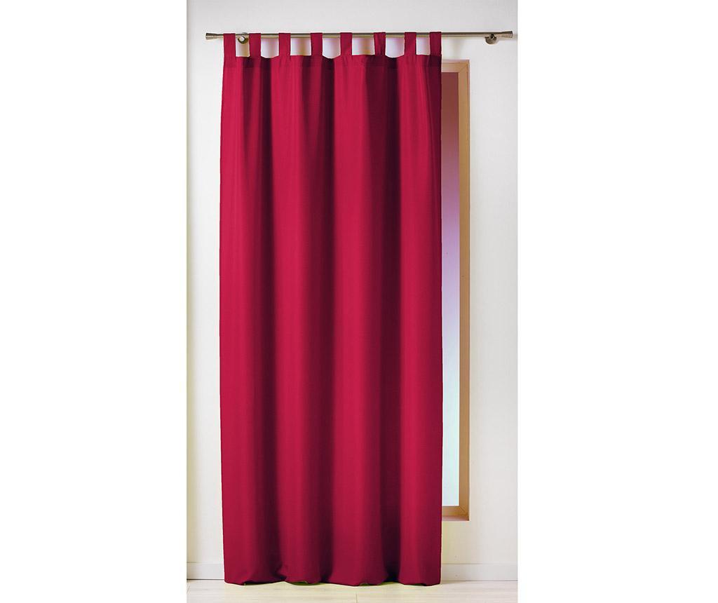 Essential Loop Red Sötétítő 140x260 cm